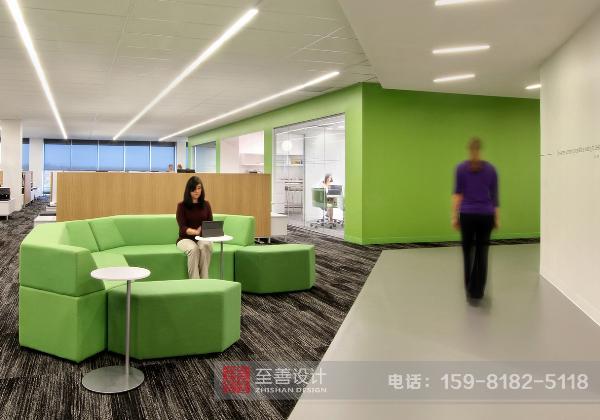 办公展厅规划